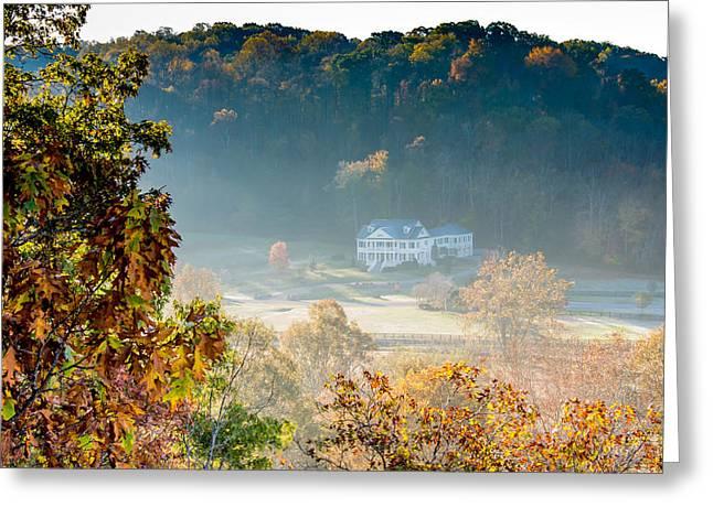 Birdsong Hollow - Natchez Trace Greeting Card by Debra Martz