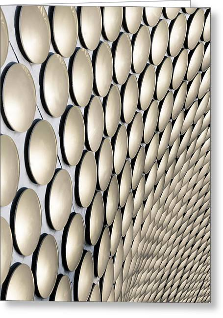 Disc Photographs Greeting Cards - Birmingham Abstract No. 8 Greeting Card by Chris Fletcher