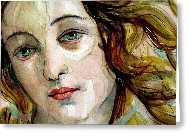 Venus Greeting Cards - Birth of Venus Greeting Card by Paul Lovering