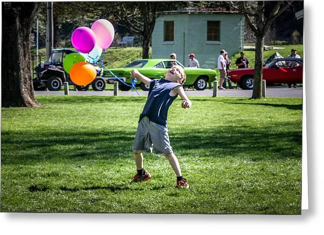 Birthday Boy Greeting Card by Brad Stinson