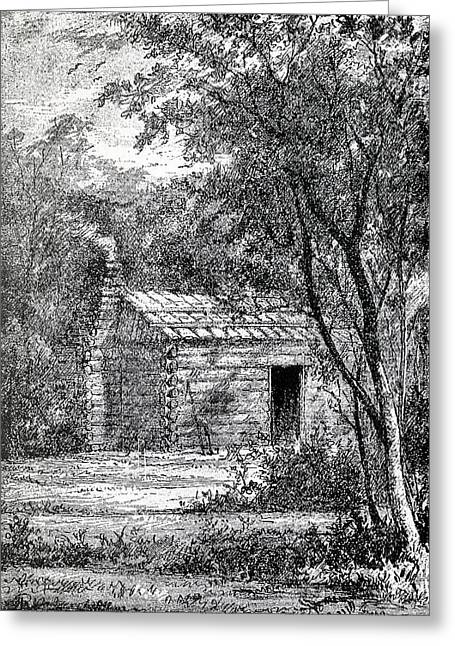 Birthplace Of James Abram Garfield 1831 Greeting Card by Vintage Design Pics