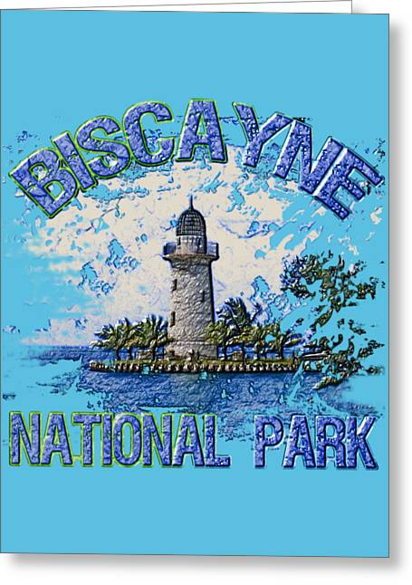 Biscayne National Park Greeting Card by David G Paul