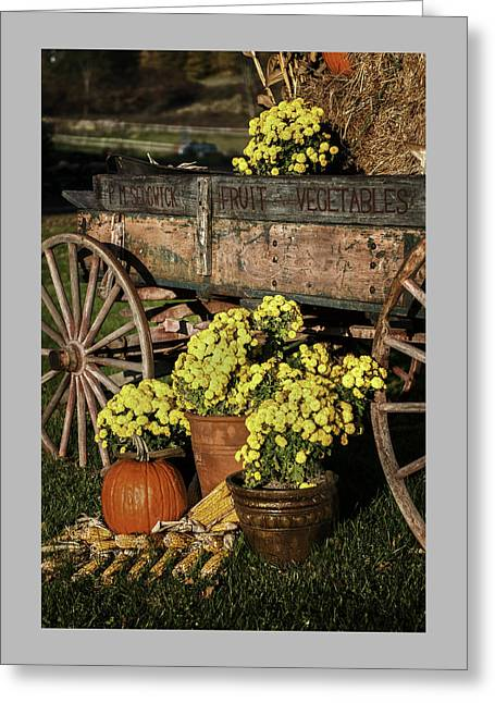 Old Country Roads Greeting Cards - Bit of Country - Vermont Style Greeting Card by Thomas Schoeller