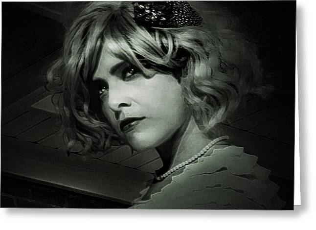 Pensive Greeting Cards - Bitch Im Madonna Greeting Card by Wendy Martinez