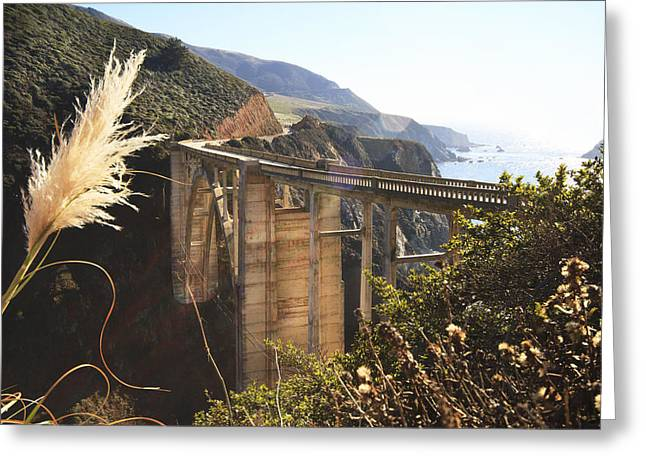 Bixby Bridge Greeting Cards - Bixby Creek Bridge 2 Greeting Card by Jessica Velasco