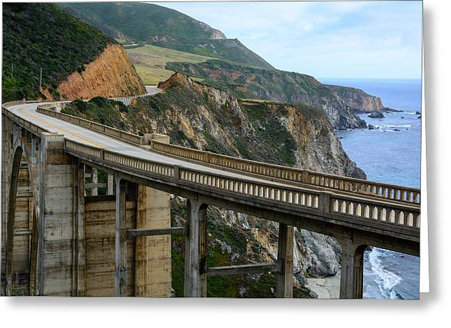 Bixby Bridge Greeting Cards - Bixby Bridge Greeting Card by Cristi Canepa