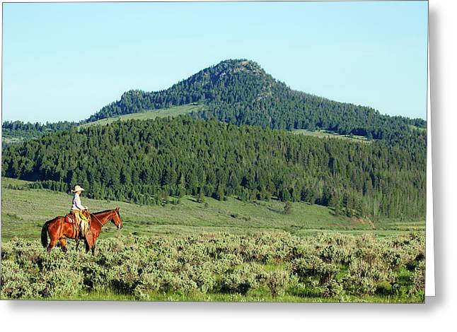 Black Butte Ride Greeting Card by Todd Klassy