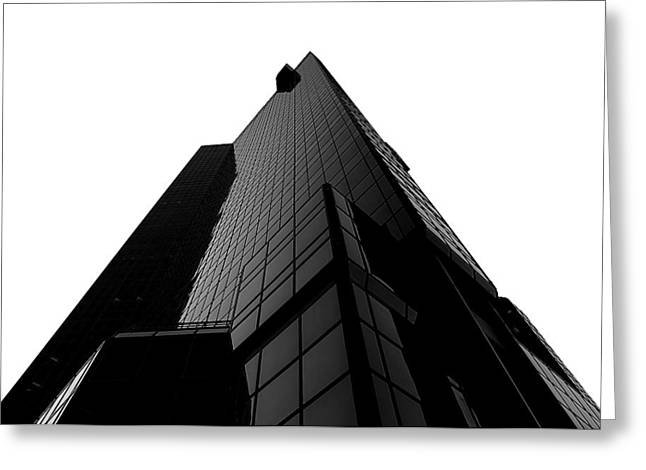 Barry Styles Greeting Cards - Black Pyramid Greeting Card by Barry Styles