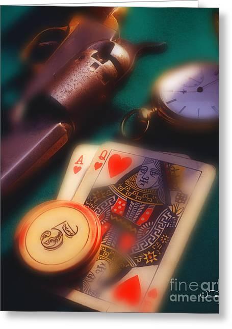 Blackjack Greeting Cards - Blackjack Greeting Card by Vance Fox