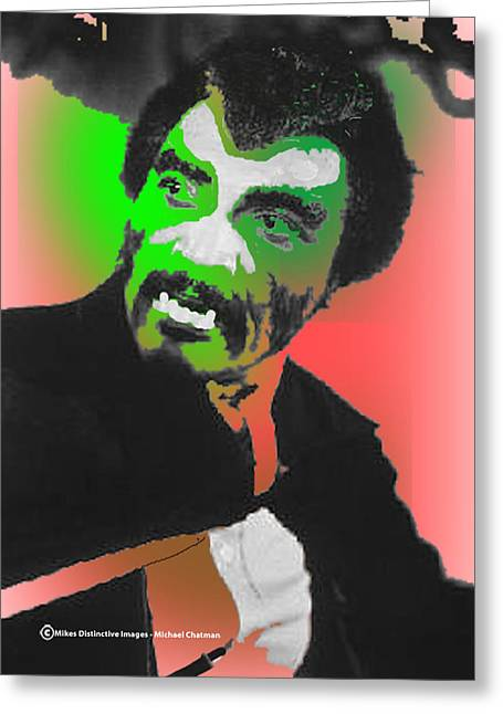 African-americans Greeting Cards - Blackula Greeting Card by Michael Chatman