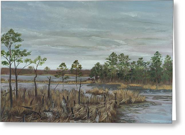 Edward Williams Greeting Cards - Blackwater National Wildlife Refuge Greeting Card by Edward Williams