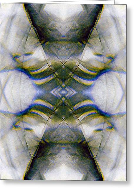 Psychological Space Greeting Cards - Blanket_0009 Greeting Card by Alex McDonell