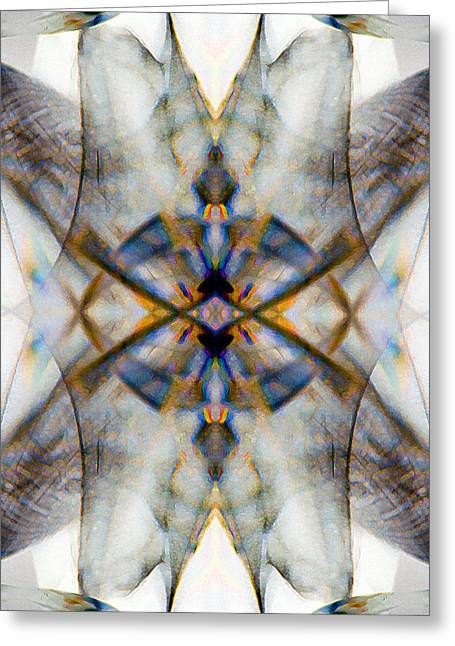 Psychological Space Greeting Cards - Blanket_0016 Greeting Card by Alex McDonell