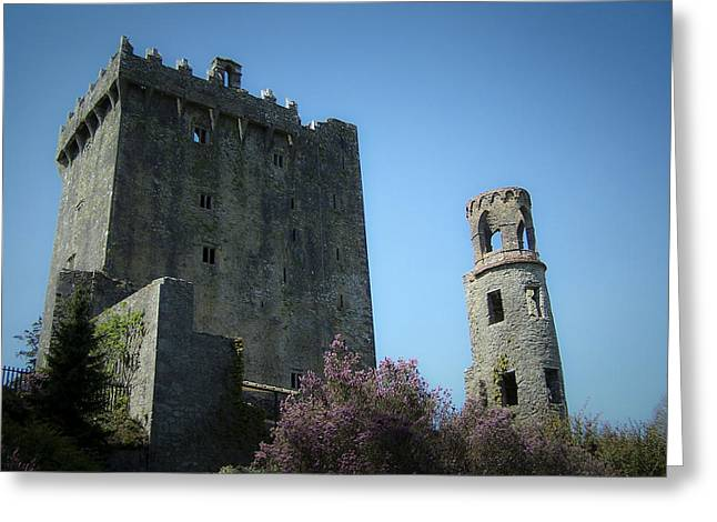 Eloquence Greeting Cards - Blarney Castle and Tower County Cork Ireland Greeting Card by Teresa Mucha