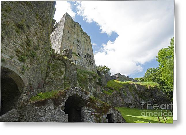 Dungeons Greeting Cards - Blarney Castle Dungeon Greeting Card by Cindy Murphy - NightVisions