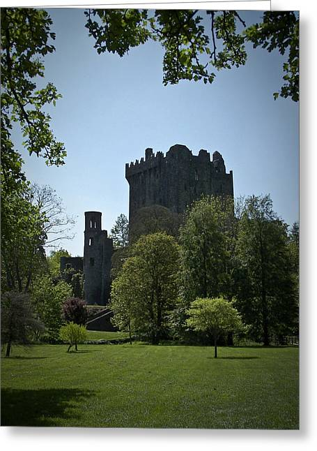 Ireland Photographs Greeting Cards - Blarney Castle Ireland Greeting Card by Teresa Mucha