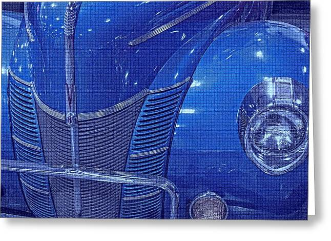 Smooth Ride Greeting Cards - Electric blue  Greeting Card by Dennis  Baswell