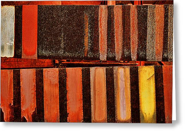 Historic Site Greeting Cards - Blast Furnace -  Iron Ore - Abstract - #1  Greeting Card by Nikolyn McDonald