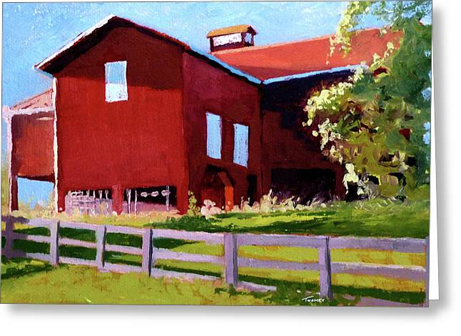 Bleak House Barn No. 3 Greeting Card by Catherine Twomey