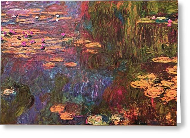 Impressionist Greeting Cards - Blend 12 Monet Greeting Card by David Bridburg