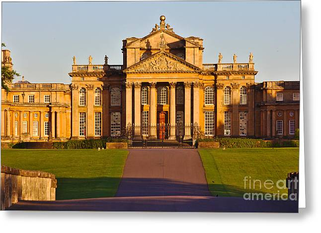 Grade 1 Greeting Cards - Blenheim Palace Entrance Greeting Card by Jeremy Hayden
