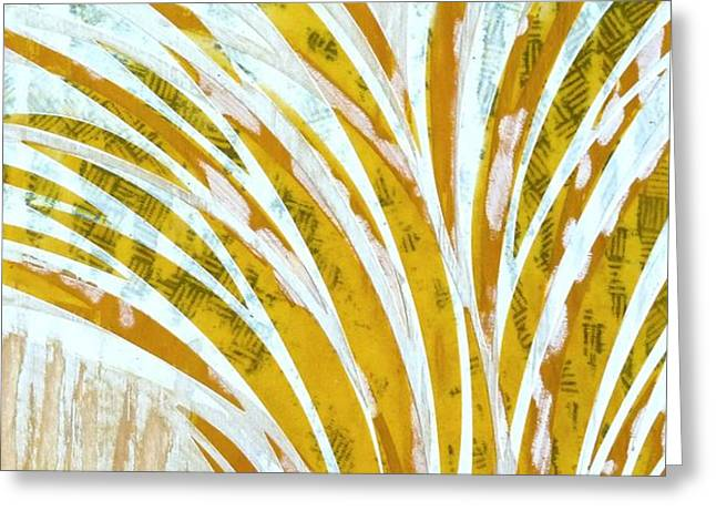 Abstract Movement Greeting Cards - Block II Greeting Card by Desiree Warren