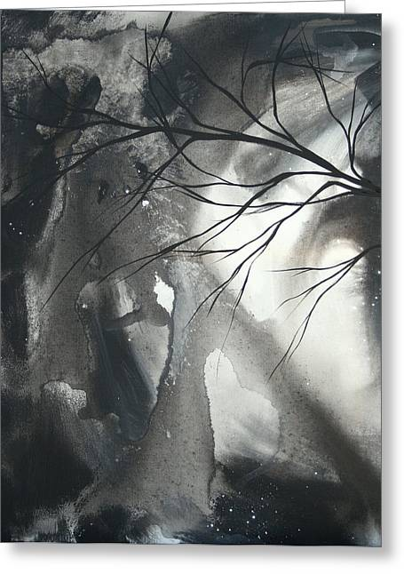 Licensor Greeting Cards - Blood of the Moon 1 by MADART Greeting Card by Megan Duncanson