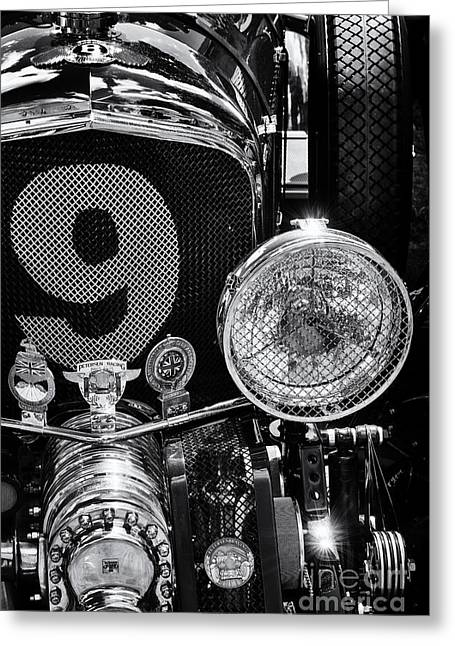 English Car Greeting Cards - Blower Bentley Greeting Card by Tim Gainey