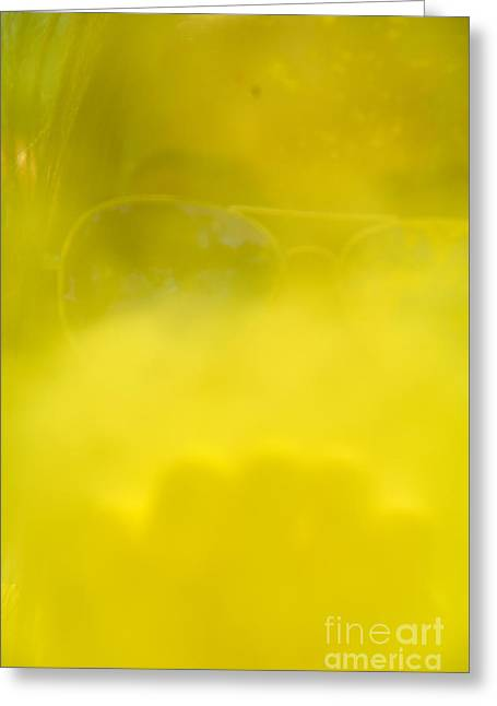 Satisfaction Greeting Cards - blowing yellow Holi Greeting Card by Aleksey Tugolukov