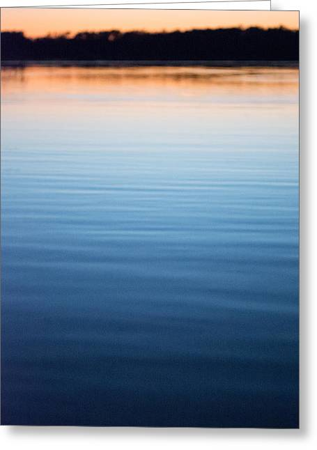 Colorful Photos Greeting Cards - Blue and Gold  Greeting Card by Parker Cunningham