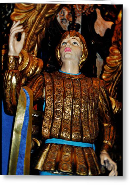 Princes Greeting Cards - Blue Danube Prince Closeup Greeting Card by Kyle Hanson