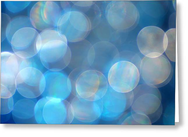 Wishes Greeting Cards - Blue Greeting Card by Darren Fisher