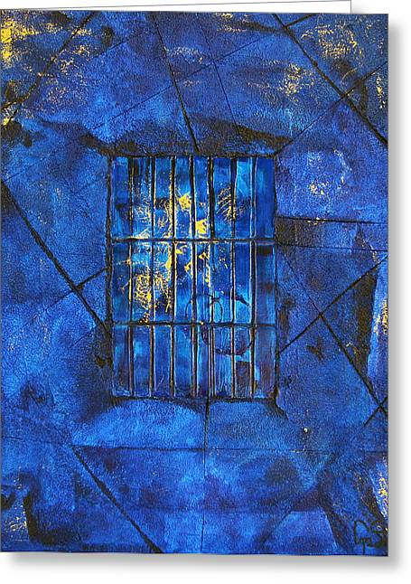 Dawnstarstudios Greeting Cards - Blue Dreams Greeting Card by Dawnstarstudios