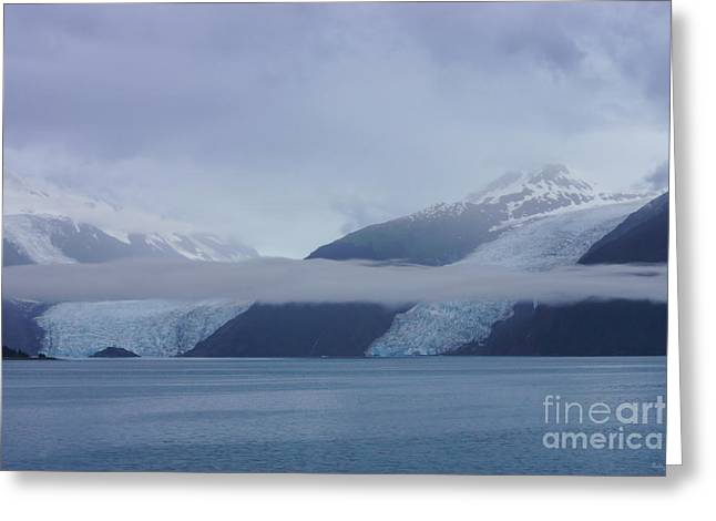 Ocean Art Photography Greeting Cards - Blue Escape in Alaska Greeting Card by Jennifer White