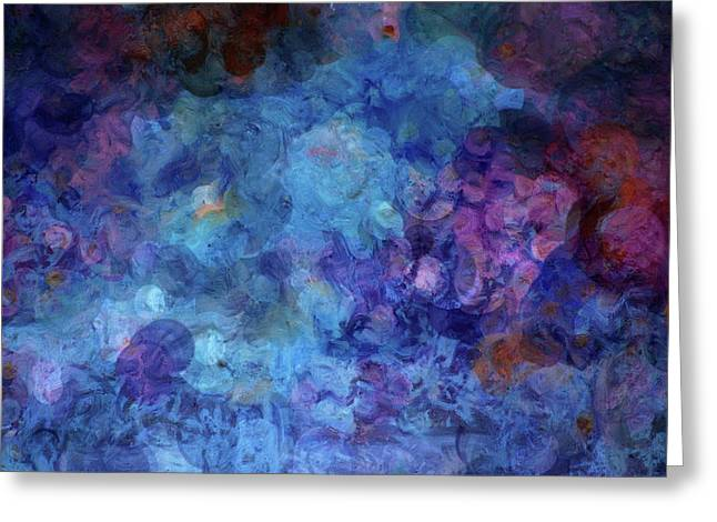 Water In Caves Greeting Cards - Blue Grotto Painting  Greeting Card by Don Wright