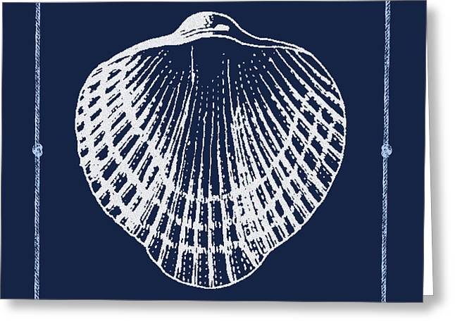 Sea Life Digital Art Greeting Cards - Blue Harbor-JP2702 Greeting Card by Jean Plout