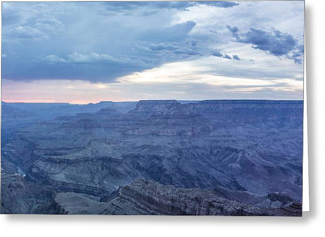 The Grand Canyon Greeting Cards - Blue Lightning Grand Canyon Greeting Card by John McGraw
