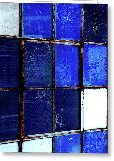 Mike Lindwasser Photography Greeting Cards - Blue Greeting Card by Mike Lindwasser Photography