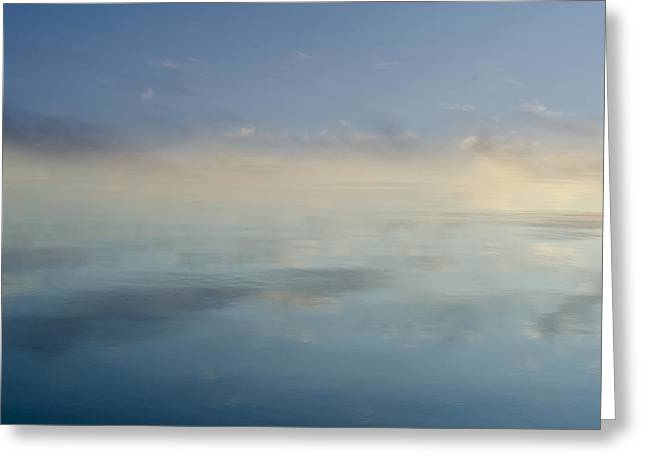 Blue Morning At Glendale Greeting Card by Dave Gordon