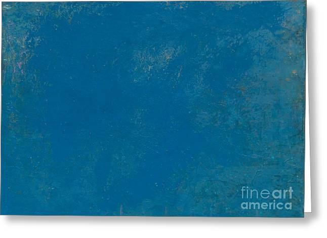 Self Discovery Greeting Cards - Blue No1 Greeting Card by Radu Gavrila