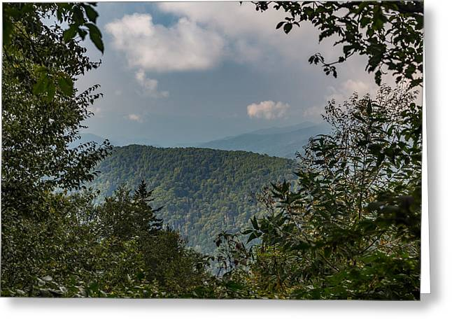 Mccoy Greeting Cards - Blue Ridge Greeting Card by A Different Brian Photography