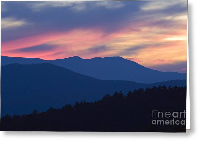 Scenic Greeting Cards - Blue Ridge - D009562 Greeting Card by Daniel Dempster