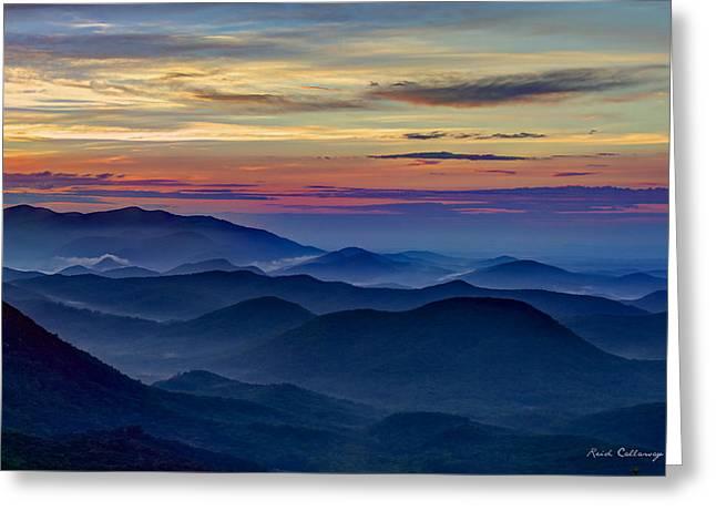 Blue Ridges Pretty Place Chapel Greeting Card by Reid Callaway
