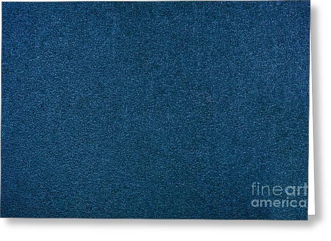 Blue Rough Cardboard Texture Greeting Card by Arletta Cwalina