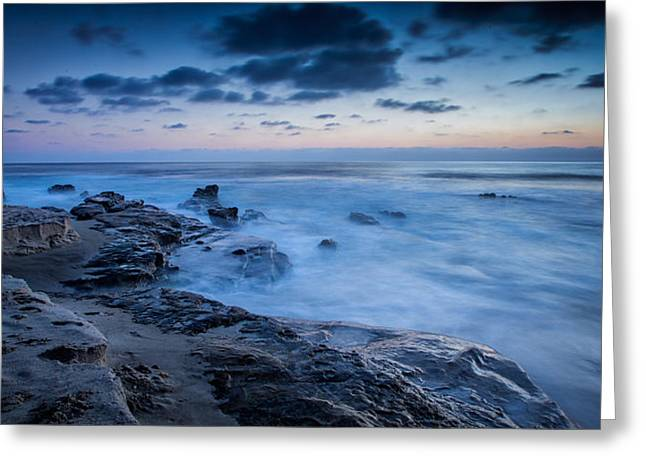 Surf Shack Greeting Cards - Blue Seas Greeting Card by Peter Tellone