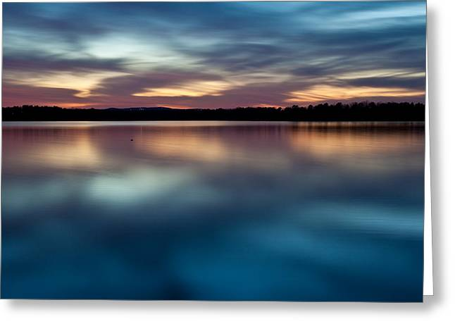 Heber Springs Greeting Cards - Blue Skies Of Reflection Greeting Card by Jonas Wingfield