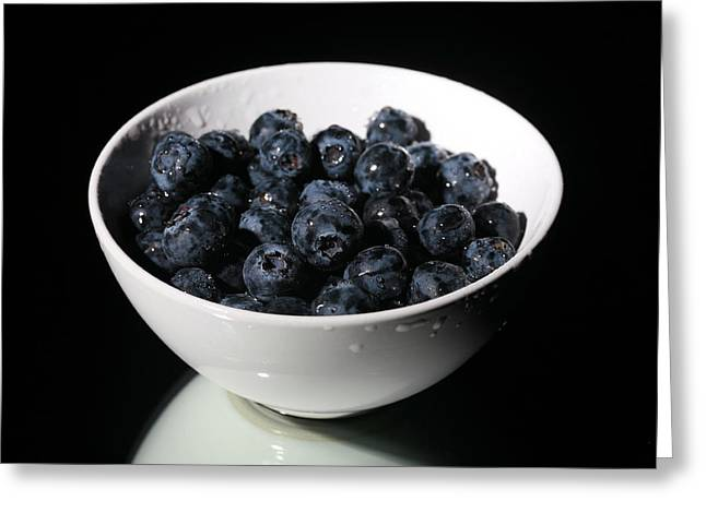 Michael Sweet Greeting Cards - Blueberries Greeting Card by Michael Ledray