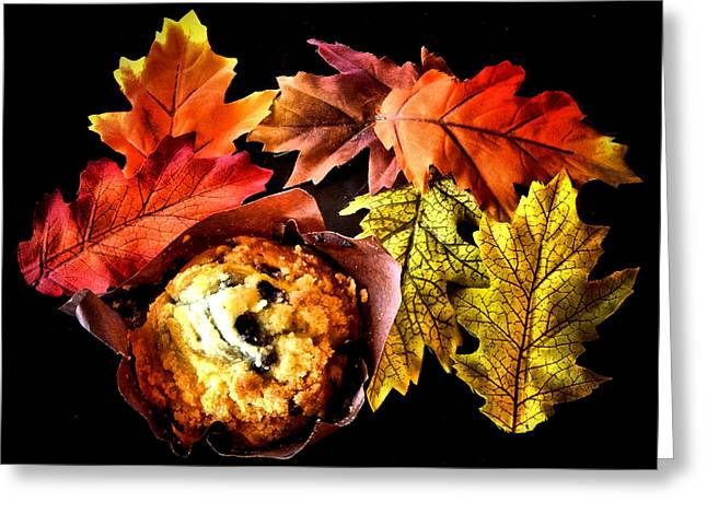 Value Greeting Cards - Blueberry Hill Muffin Greeting Card by Karen M Scovill