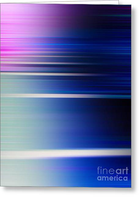 Blur 29 Greeting Card by Horacio Martinez