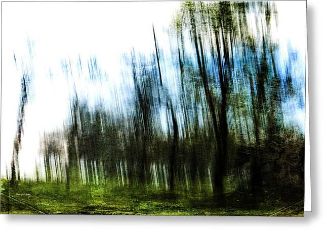 Mystical Landscape Greeting Cards - Blurred Vision Greeting Card by Randi Grace Nilsberg